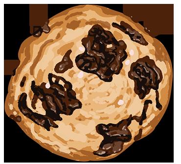 Choco-Toffee-Cookies